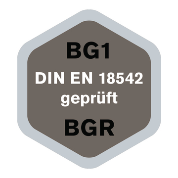 Fugendichtband BG1 klebt einseitig ist vorkomprimiert und eignet sich f/ür das UV-best/ändige Abdichten von Mauerfugen 4, 10mm x 2-4mm x 10m
